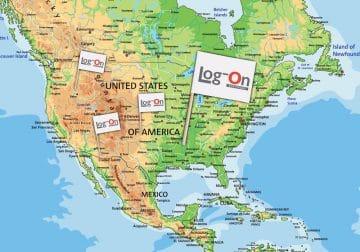 לקוח חדש לוג-און ארה״ב ארצות הברית דגלים
