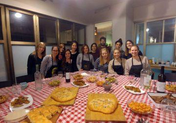 ערב גיבוש בניחוח איטלקי
